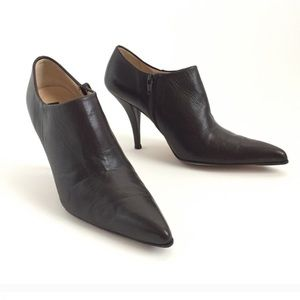 Kenneth Cole Leather Shooties